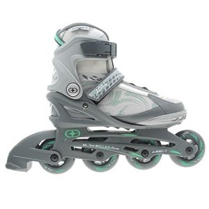 No-Fear-Womens-Ladies-Fitness-Inline-Skates-Roller-Blades-Four-Wheel-Sports-0