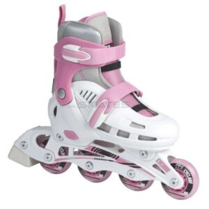 SFR-Cyclone-White-Pink-Adjustable-Inline-Skates-0